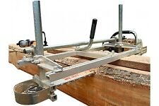"Meghi Chainsaw Mill 48"" - planking lumber boards milling"
