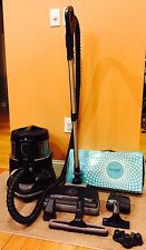 "Rainbow ""Black"" Canister Vacuum Cleaner ~The newest model! W/Rainjet Mop!"