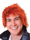 80's Ginger Chisel Wig Chucky Scotsman Red Mens Ladies Halloween Fancy Dress New