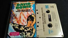 DAVID BOWIE The Man Who Sold The World *RARE MC EXOTIC COVER*LAND UNKNOWN