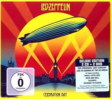 LED ZEPPELIN - CELEBRATION DAY / LIVE 2007 (DELUXE 2 CD + 2 DVD SET / DIGIPACK)