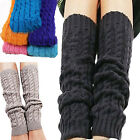 Fashion Women Winter Leg Warmers For Women Gaiters Knit Warm Boot Cuffs Socks