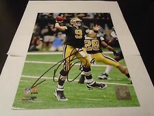 DREW BREES SIGNED NEW ORLEANS SAINTS 8X10 PHOTO GREAT PIC MUST SEE W/COA!