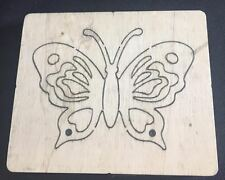 Rainbow Butterfly wooden die fits Sizzix, Big shot , Big shot pro machines