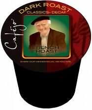 Cafejo Decaf French Roast Single Serve Cups (24 Cups -$0.62 per cup)