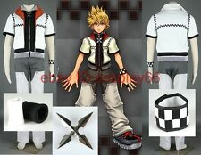 Kingdom Hearts Roxas I 5 Piece Cosplay Costume Custom Any Size