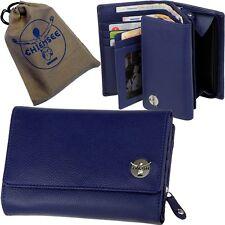 CHIEMSEE Damen Geldbörse - ocean blue purse - Leder Blau Geldbeutel Portemonnaie