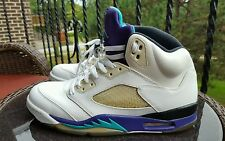 Nike Air Jordan 5 V Retro Grape, 136027-108, Men's Basketball Shoes, Size 10.5