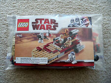 LEGO Star Wars Clone Wars - Landspeeder 8092 w/ Instructions - No Minifigs - New