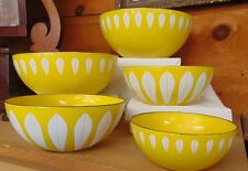 Cathrineholm Lotus Enamelware 5 Bowl Set