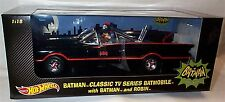 Batman Classic TV Series Batmobile With batman and robin figures 1-18 scale new