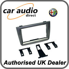 Connects2 CT24AR17 Glossy Titanium Double Din Facia Plate for Alfa Romeo Mito