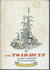The Toad hunt by janet chenery & ben shecter 1967 hardcover harper & row