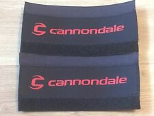 2 x CANNONDALE  NEOPRENE BICYCLE ACCESSORIES BIKE CHAIN STAY FRAME PROTECTOR