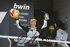 Dominique Aegerter Hand Signed Technomag carXpert Suter 12x8 Photo 2014 Moto2 3.