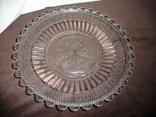 vtg EAPG pattern Glass Dish DO UNTO OTHERS AS YOU WOULD HAVE THEM DO UNTO YOU