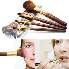 Pro Makeup 4pcs Brushes Set Eyeshadow Eyeliner Lip Brush Powder Foundation Tool