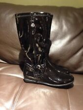 Nordstrom Black Tall  Boots For Girls Size 4