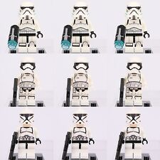 9pcs Star Wars First Order Storm Trooper & Clone Trooper Custom Lego Mini Figure