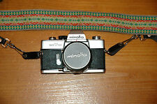 Vtg Minolta SRT 101 FIlm SLR with MC Rokkor-PF 1:1.4 f=58mm  with Case and Strap