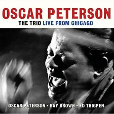 OSCAR PETERSON - THE TRIO LIVE FROM CHICAGO  (NEW SEALED 2CD SET)