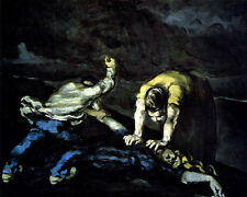 Paul Cezanne - The Murder  - 24'  CANVAS