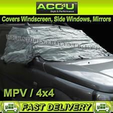 4x4 MPV Windscreen Front Side Windows Door Mirrors Snow Frost Cover Protector