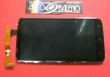 Kit DISPLAY LCD + VETRO TOUCH SCREEN PER HTC ONE X + PLUS NERO Assemblato Nuovo