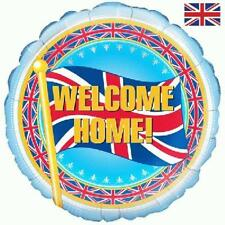 "18"" FOIL BALLOON ""WELCOME HOME' CELEBRATE LOVED ONE RETURNING"