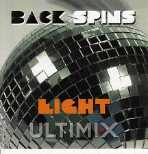 Ultimix Back Spins 8 CD Vanity 6 Eagles Kool & The Gang Chic Carl Carlton ABBA