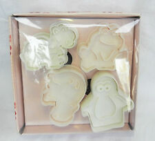 Hilly's Kitchen Pack of Four Animal Fondant Plunger Cutters - BNIB