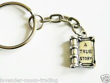 CUTE TRUE STORY BOOK KEYRING/Keychain/bag charm/fairy tale