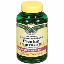 Spring Valley Women's Health Evening Primrose Oil Pills 1000mg Per Softgel 75 ct