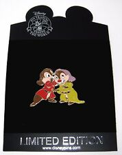 LE 250 RARE Disney Pin✿Chip Dale Halloween Costume Dressed Up Dopey Grumpy Dwarf