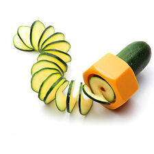 Hot Sell Cucumber Courgette Cutter Vegetable Peeler Gadgets Kitchen Tool Random