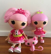 Lalaloopsy Sister Large Doll Jewel Sparkle With Trinket Girl Toys Rare!!
