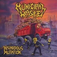 "MUNICIPAL WASTE ""HAZARDOUS MUTATION"" CD NEUWARE"