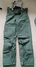 Rare RAF Aircrew MK4a Cold Weather Trousers FR Flame Ret. Typhoon Tornado ( mk3a