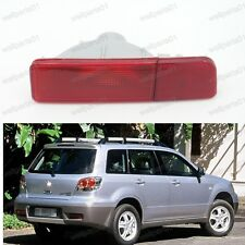1Pcs LH Rear Bumper Light Reflector For Mitsubishi Outlander EU Model 2003-2004