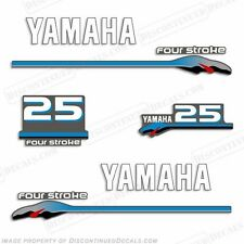 Yamaha 25hp FourStroke Outboard Motor Decal Kit 4 Stroke 25 hp four stroke 2000