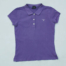 Gant Kid's Girl's 146/152 CMS de manga corta Polo Top Stretch púrpura 11-12 años XL