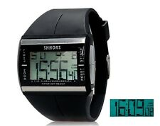 MONTRE SPORT DIGITAL NOIRE-CHRONOMETRE-HOMME/FEMME-MEN/WOMEN