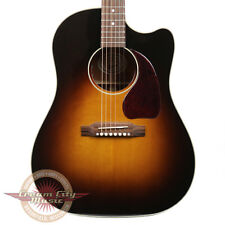Used Gibson J-45 J45 Standard Cutaway Acoustic Electric Guitar Vintage Sunburst