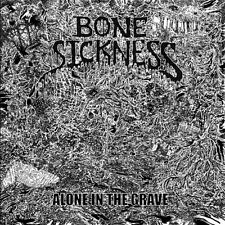 Bone Sickness - Alone In The Grave LP - DeathMetal/Grindcore - NEW COPY