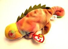 Ty Beanie Babies Rainbow the Chameleon 1997 with tags!