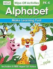 Alphabet Wipe-Off Activities: Endless fun to get ready for school! (Let's Leap A
