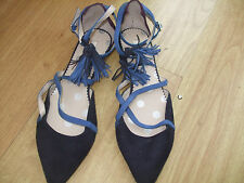 BODEN CHELSEA POINTED FLATS  SIZE= 40==6.5 BNWOB