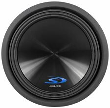 "Alpine Type-S SWS-15D4 15"" 1500 Watt Dual 4-Ohm Car Audio Subwoofer Sub SWS15D4"