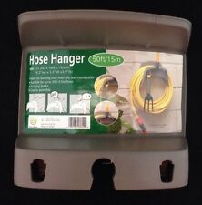Double L Garden Hose Hanger Plus Accessory Holder
