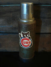 ANTIQUE VINTAGE CHICAGO CUB STANLEY THERMOS coffee pub bar baseball beer logo